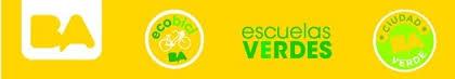 Logo Ciudad de Buenos Aires escuelas verdes