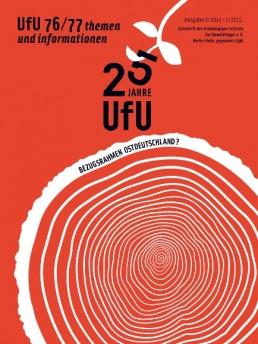 UfU Zeitschrift 76/77 - themen und informationen - Cover