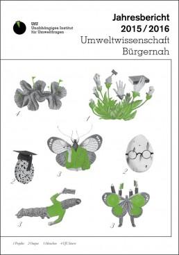 UfU Jahresbericht 2015/2016 - Cover