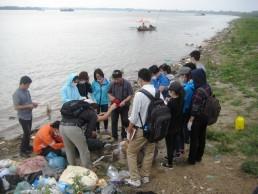 Bodenuntersuchung in Vietnam