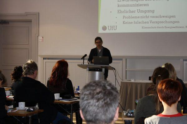 Foro von M. Schmidthals beim Vortrag